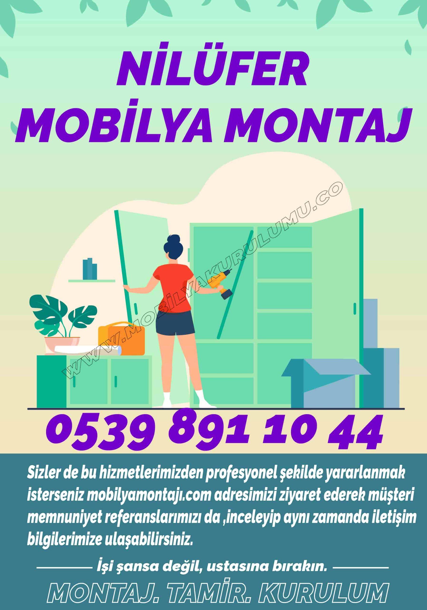 Mobilya montaj Nilüfer Bursa