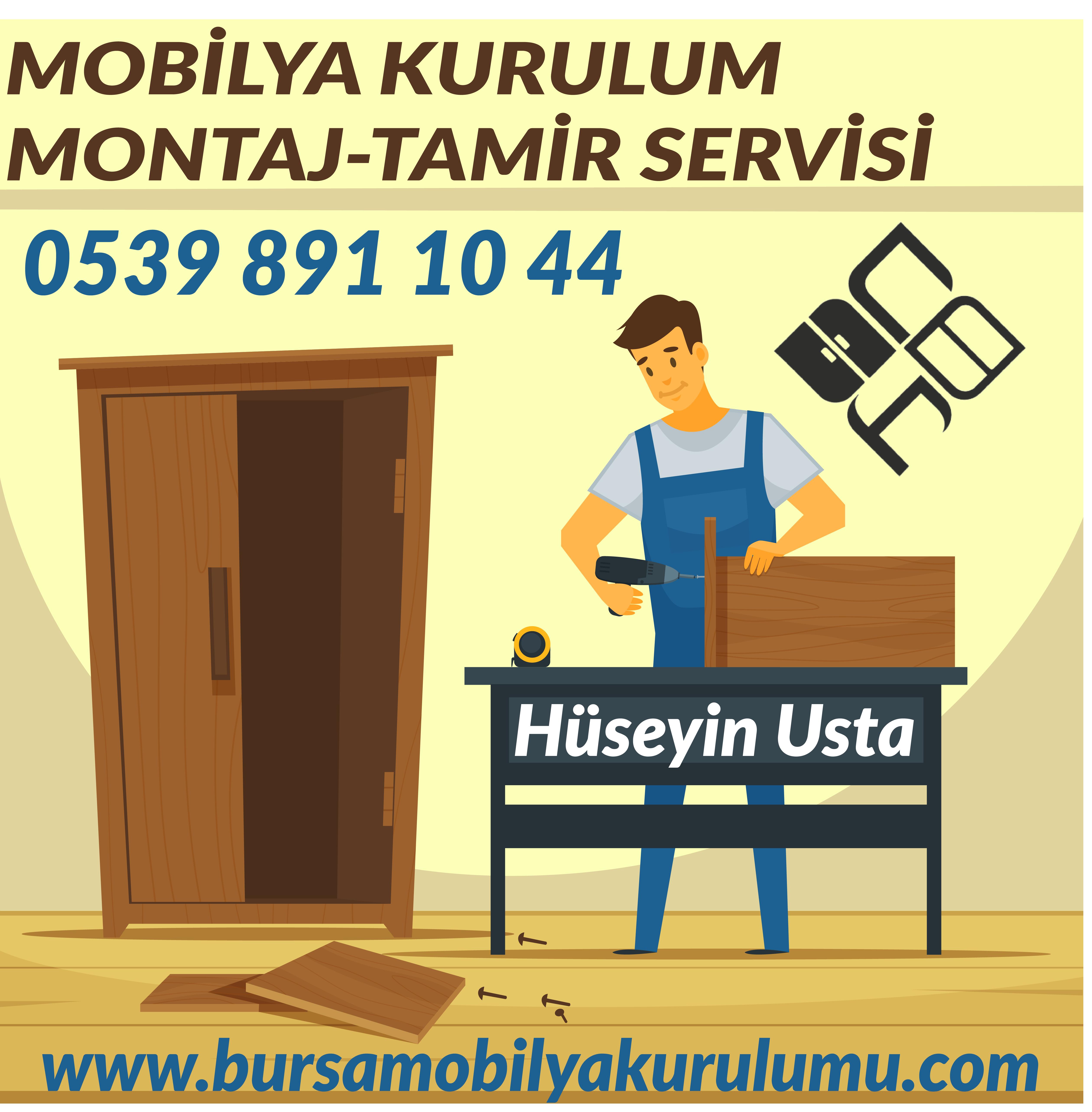 mobilya montaj hizmeti